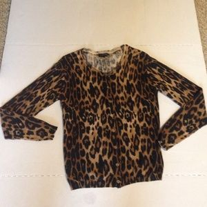 The Limited cheetah cardigan
